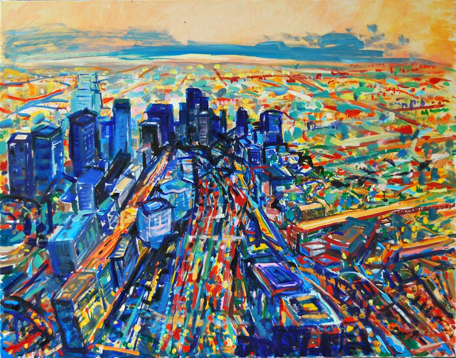 Impressionist landscape paintings of los angeles for Painting in los angeles